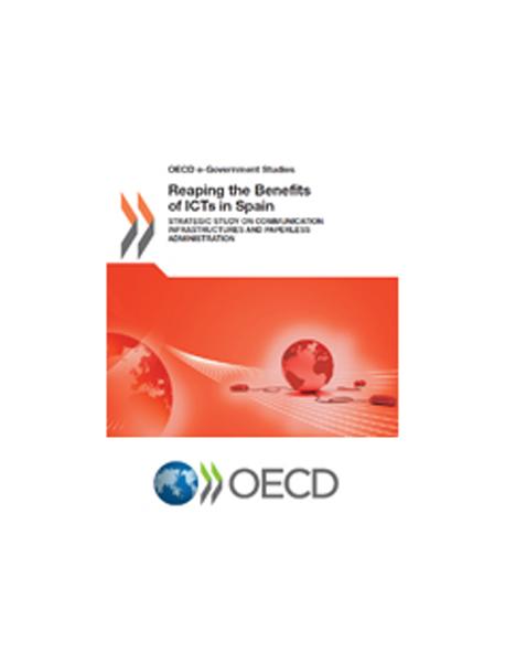 """Informe de la OCDE: """"Cosechando los beneficios de las TIC en España"""""""
