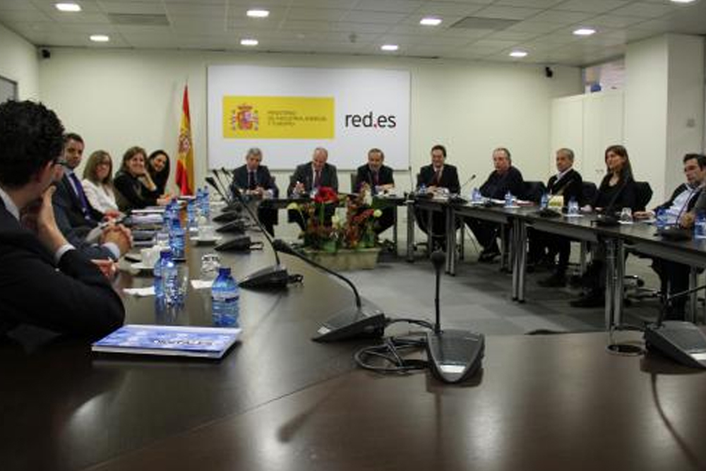 """Primera reunión del 2013 del """"Foro Público-Privado de Contenidos Digitales"""""""