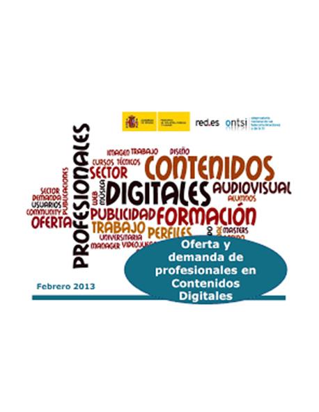 Oferta y Demanda de Profesionales en Contenidos Digitales