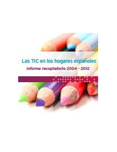 """Informe """"Las TIC en los hogares españoles"""""""