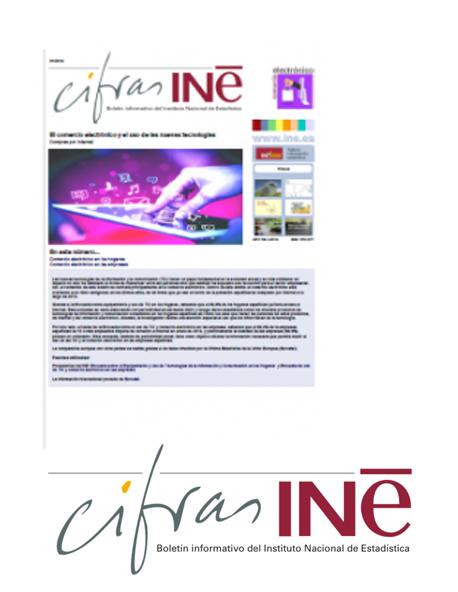 Cifras INE: El comercio electrónico y el uso de las TIC
