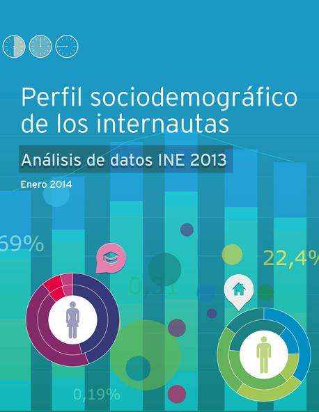 Perfil sociodemográfico de los internautas en España 2013