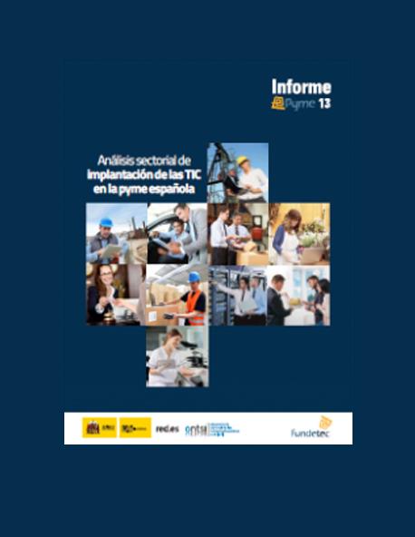 e-Pyme 13. Análisis Sectorial de Implantación de las TIC en la Pyme Española