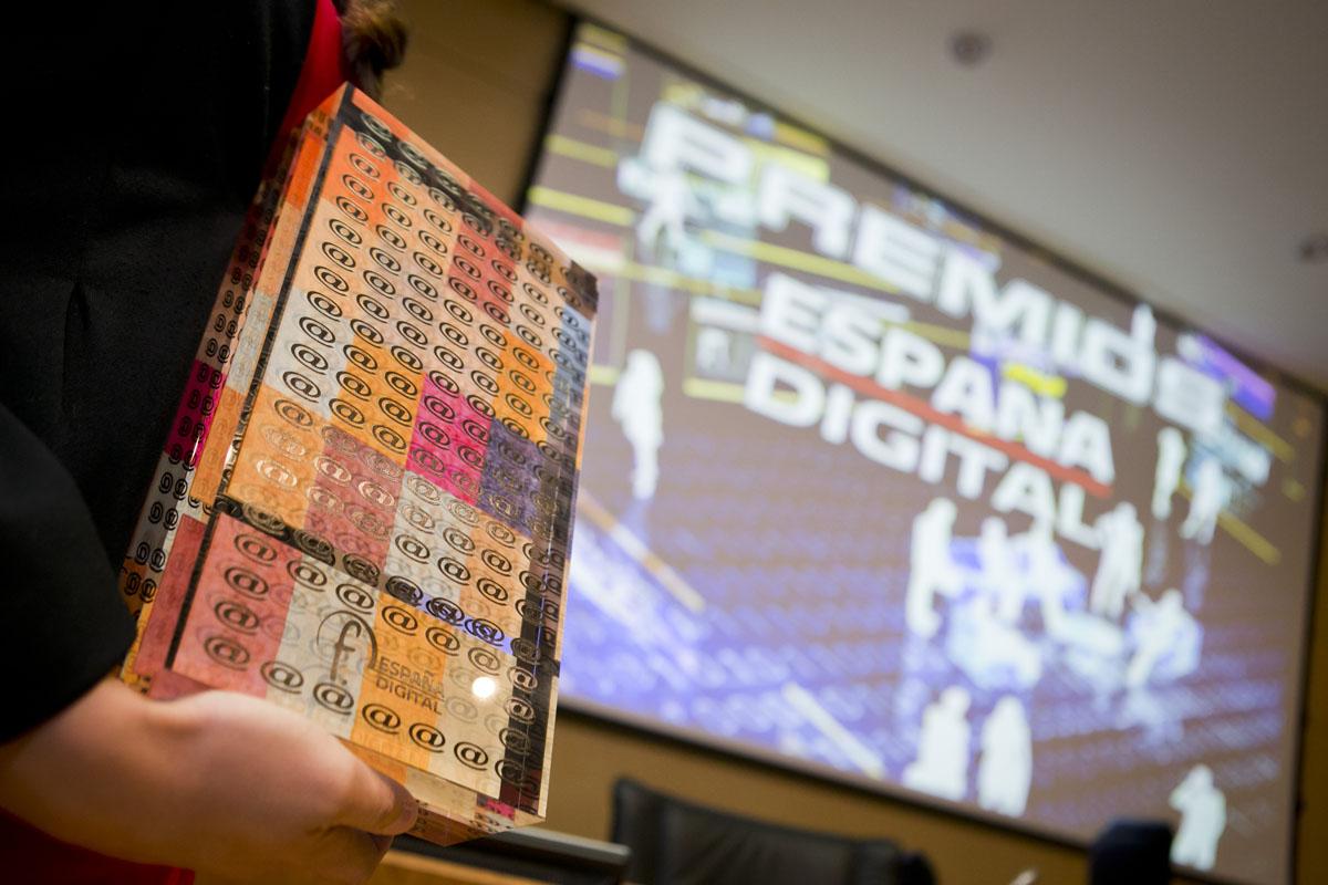 """RAE, INCIBE, Change.org y 20minutos.es, premios """"España Digital 2015"""""""
