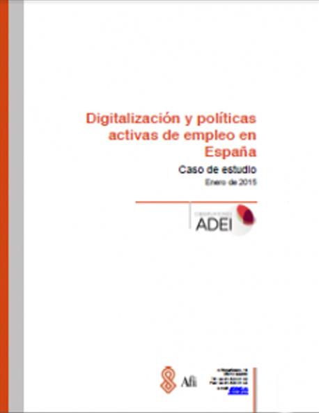 Digitalización y Políticas Activas de Empleo en España
