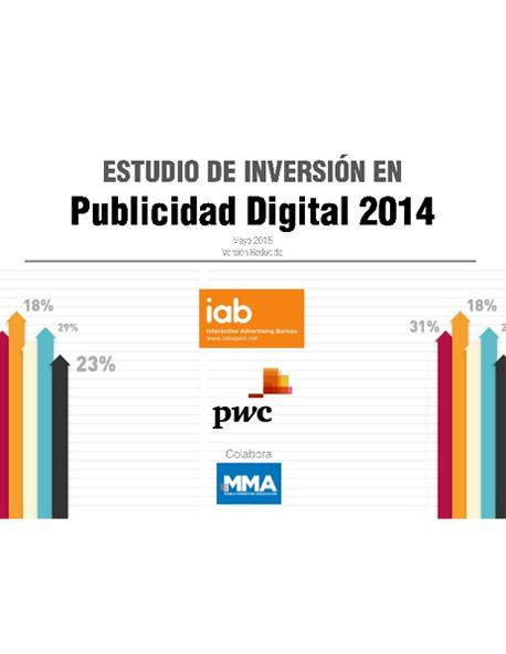 Estudio de Inversión en Publicidad Digital 2014