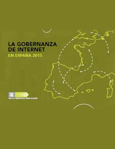Gobernanza de Internet en España 2015