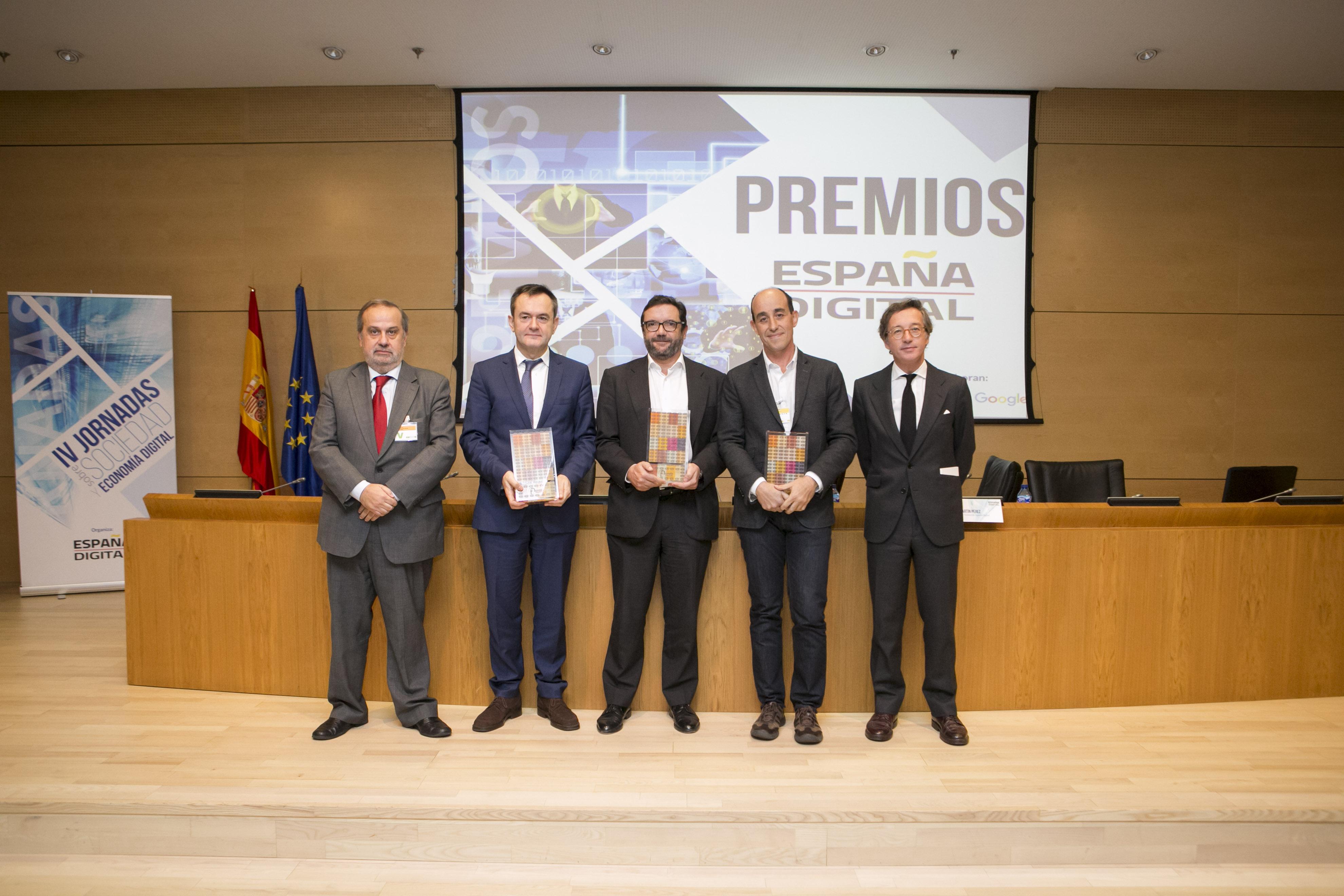 """Entrega de los premios """"España Digital 2016"""""""